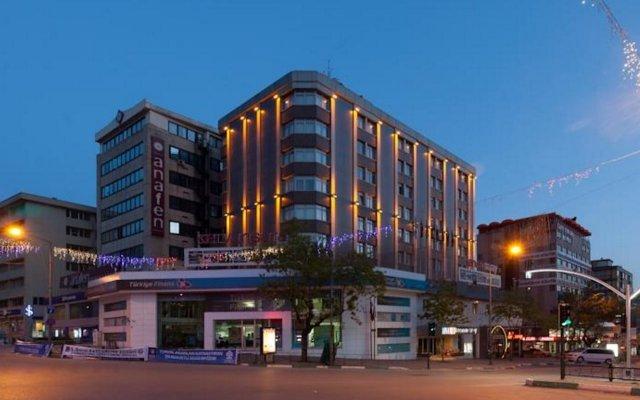 Kervansaray Bursa City Hotel Турция, Бурса - отзывы, цены и фото номеров - забронировать отель Kervansaray Bursa City Hotel онлайн вид на фасад