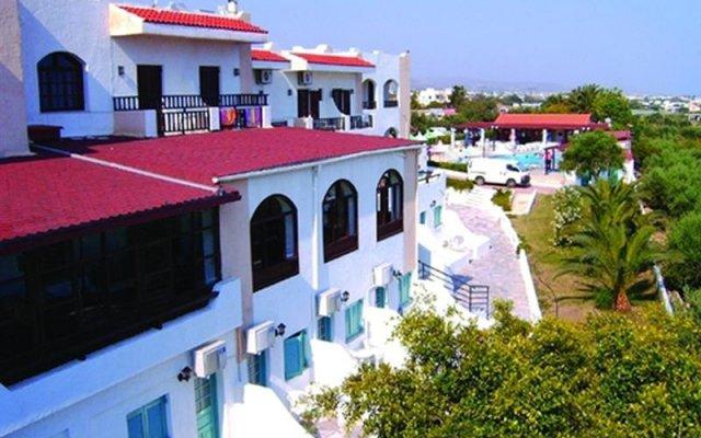 Hotel Galini Anissaras вид на фасад