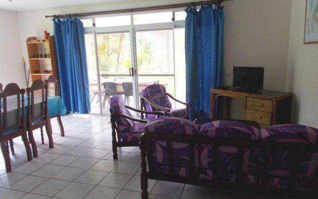 Отель Huahine Vacances комната для гостей