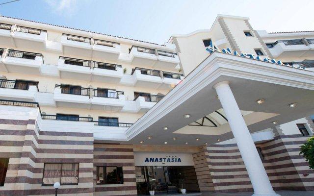 Anastasia Beach Hotel вид на фасад