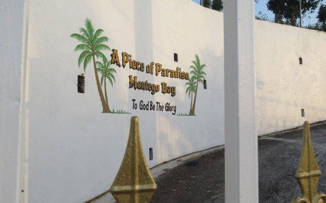 Отель A Piece of Paradise Montego Bay Ямайка, Монтего-Бей - отзывы, цены и фото номеров - забронировать отель A Piece of Paradise Montego Bay онлайн вид на фасад