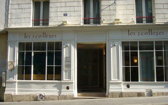 Отель Hôtel des 3 Collèges Франция, Париж - отзывы, цены и фото номеров - забронировать отель Hôtel des 3 Collèges онлайн вид на фасад