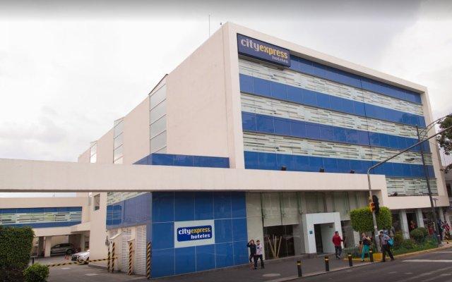 Отель City Express Buenavista вид на фасад