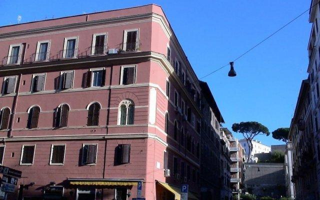 Отель Candia Inn Vatican вид на фасад