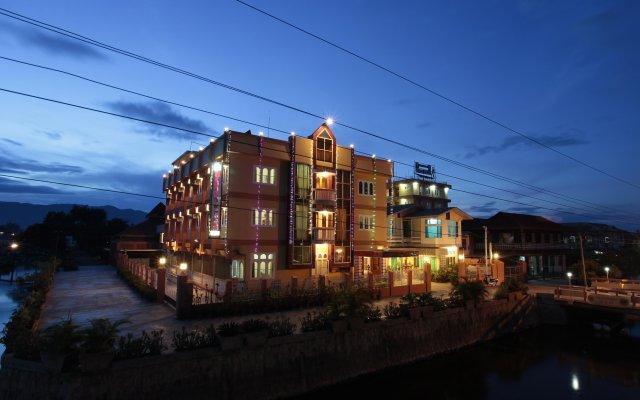 Hupin Hotel Nyaung Shwe вид на фасад
