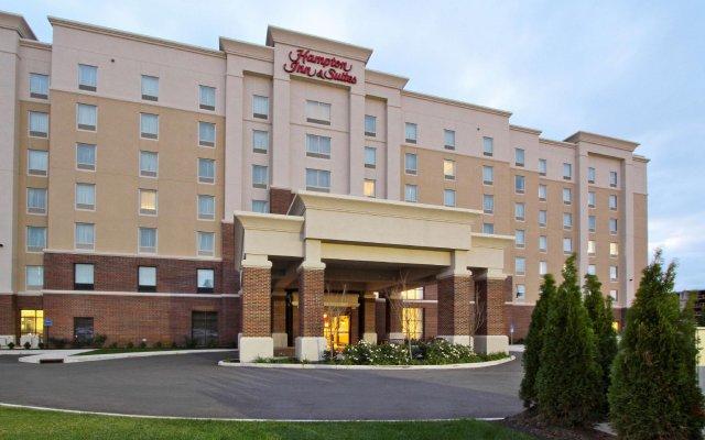 Отель Hampton Inn & Suites Columbus/University Area вид на фасад