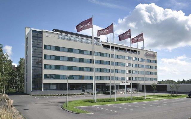 Отель Scandic Espoo вид на фасад