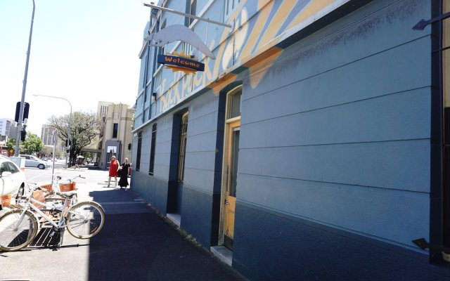 Отель Backpack Oz вид на фасад