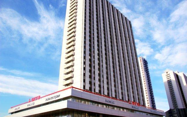 Гостиница Измайлово Бета вид на фасад
