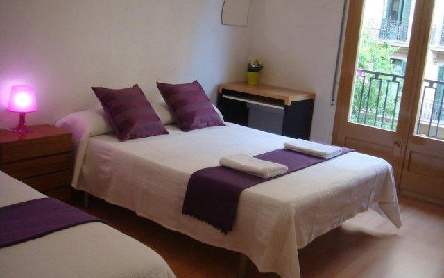 Отель Hostal Turis Alba Барселона комната для гостей