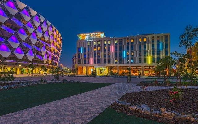 Отель Aloft Al Ain ОАЭ, Эль-Айн - отзывы, цены и фото номеров - забронировать отель Aloft Al Ain онлайн вид на фасад