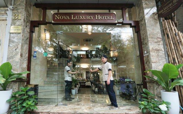Nova Luxury Hotel вид на фасад
