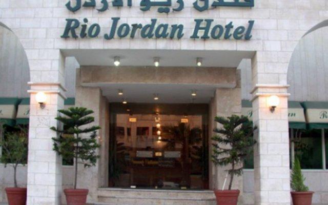 Отель Rio Jordan Амман вид на фасад