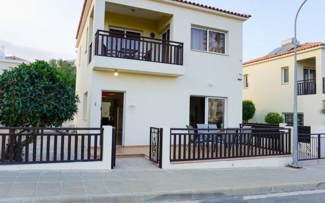 Отель Villa Soraya 2 Кипр, Протарас - отзывы, цены и фото номеров - забронировать отель Villa Soraya 2 онлайн вид на фасад