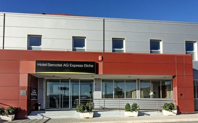 Отель Sercotel AG Express Испания, Эльче - отзывы, цены и фото номеров - забронировать отель Sercotel AG Express онлайн вид на фасад