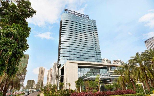 Отель Wyndham Grand Xiamen Haicang Китай, Сямынь - отзывы, цены и фото номеров - забронировать отель Wyndham Grand Xiamen Haicang онлайн вид на фасад