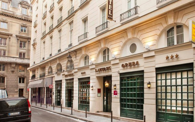 Отель Lautrec Opera вид на фасад