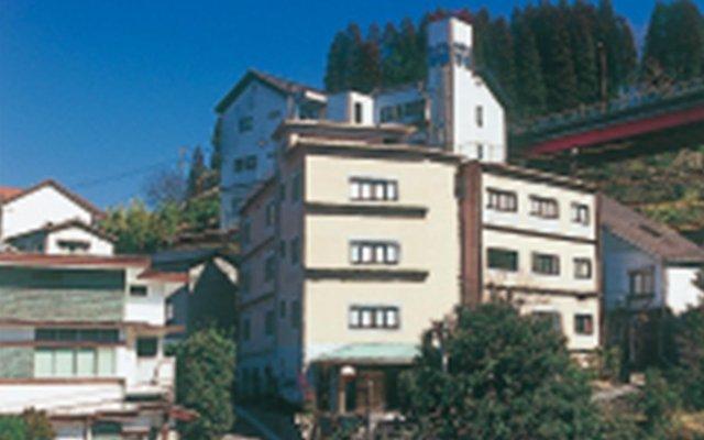 Отель Ryokan Seoto Yuoto No Yado Ukiha Хита вид на фасад