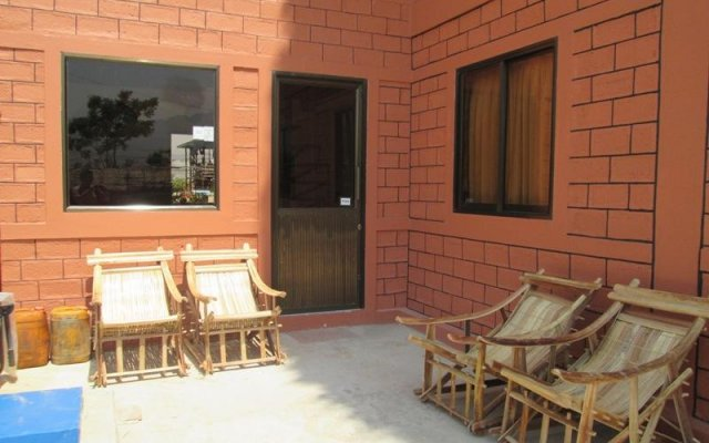 Отель Blissful Inn Nyaung Shwe вид на фасад