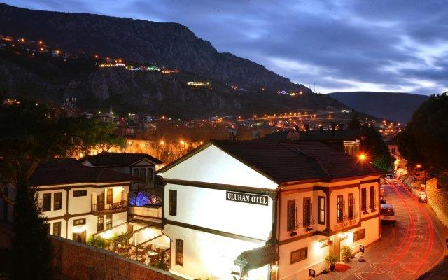 Uluhan Hotel Турция, Амасья - отзывы, цены и фото номеров - забронировать отель Uluhan Hotel онлайн вид на фасад
