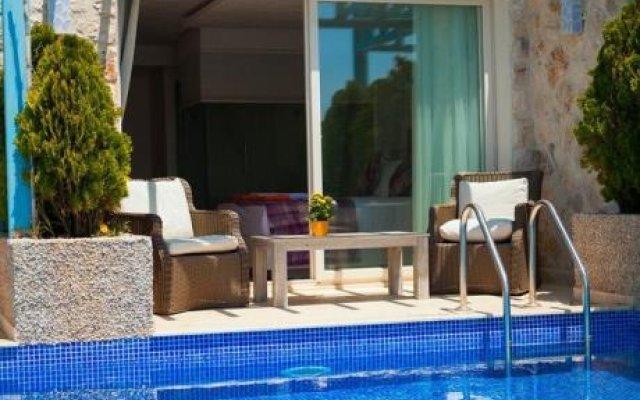 Asfiya Hotel Турция, Калкан - отзывы, цены и фото номеров - забронировать отель Asfiya Hotel онлайн бассейн