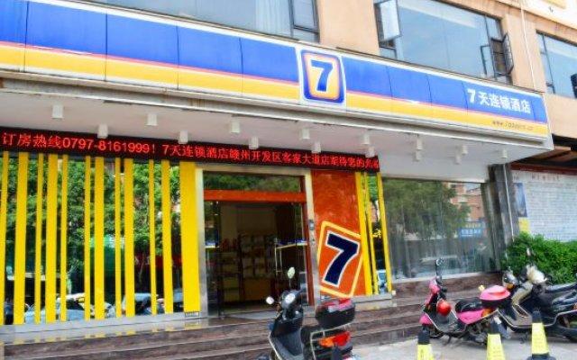 Отель 7 Days Inn (Ganzhou Development Zone Kejia Avenue) Китай, Ганьчжоу - отзывы, цены и фото номеров - забронировать отель 7 Days Inn (Ganzhou Development Zone Kejia Avenue) онлайн вид на фасад