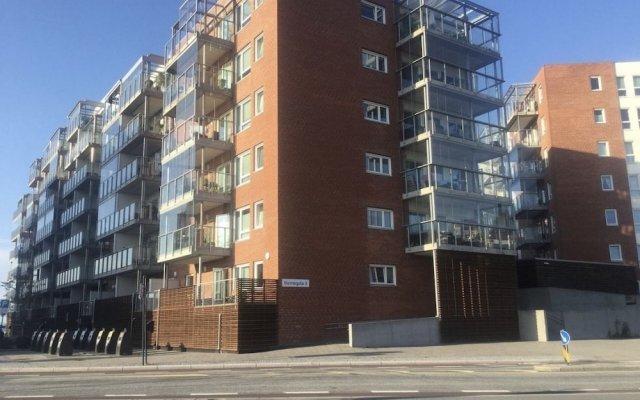 Отель Gauk Apartments Sentrum 3 Норвегия, Санднес - отзывы, цены и фото номеров - забронировать отель Gauk Apartments Sentrum 3 онлайн вид на фасад
