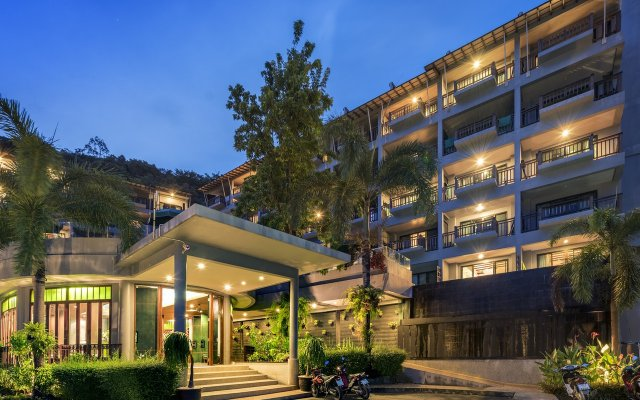 Отель Krabi Cha-da Resort вид на фасад