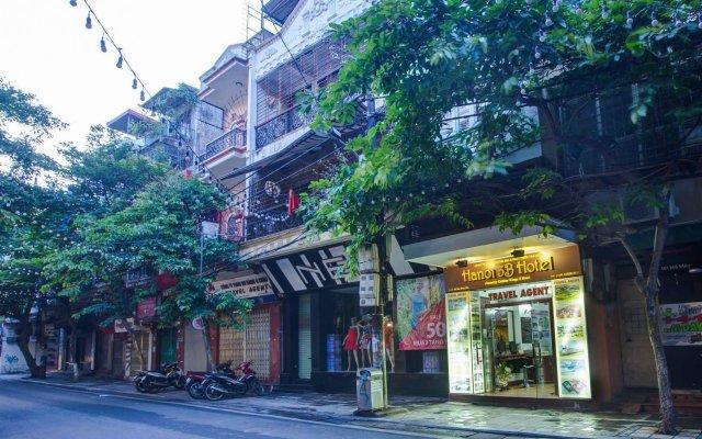 Отель Hanoi 3B Ханой вид на фасад