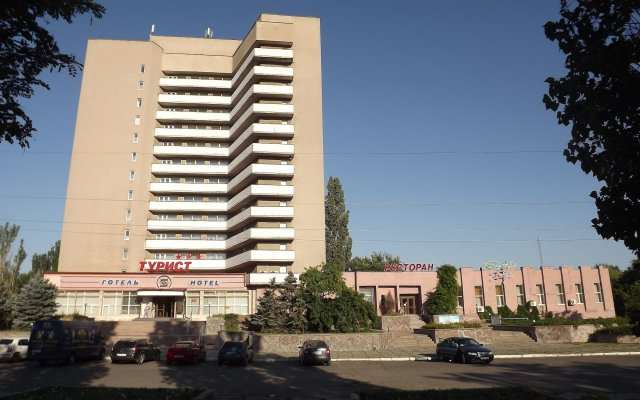 Гостиница Турист Николаев вид на фасад