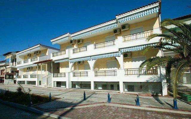Отель Vilar Studios Пефкохори вид на фасад