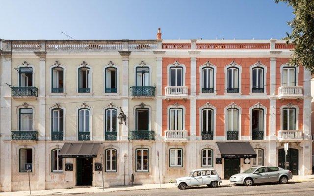 Отель The Independente Suites & Terrace Португалия, Лиссабон - 1 отзыв об отеле, цены и фото номеров - забронировать отель The Independente Suites & Terrace онлайн вид на фасад