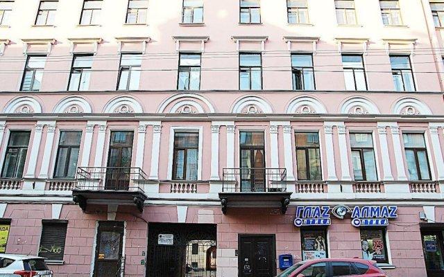 Класс Отель вид на фасад