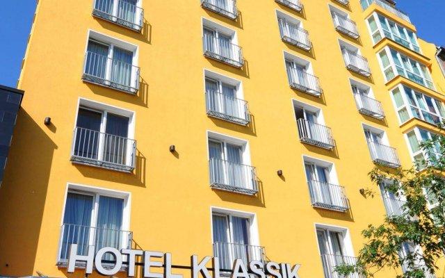 Hotel Klassik Berlin Берлин вид на фасад