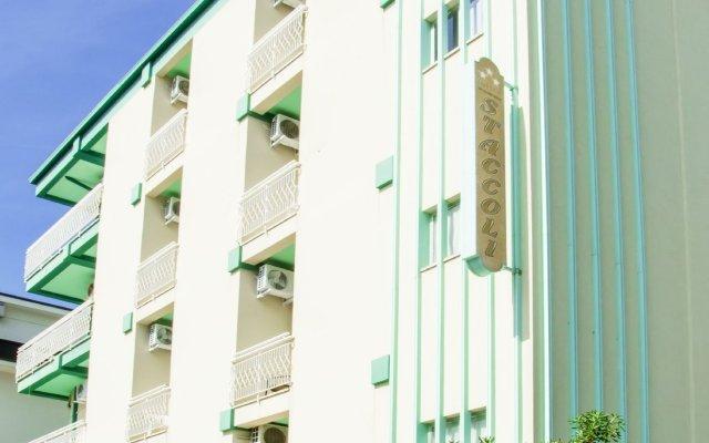 Отель Staccoli Италия, Римини - 1 отзыв об отеле, цены и фото номеров - забронировать отель Staccoli онлайн вид на фасад