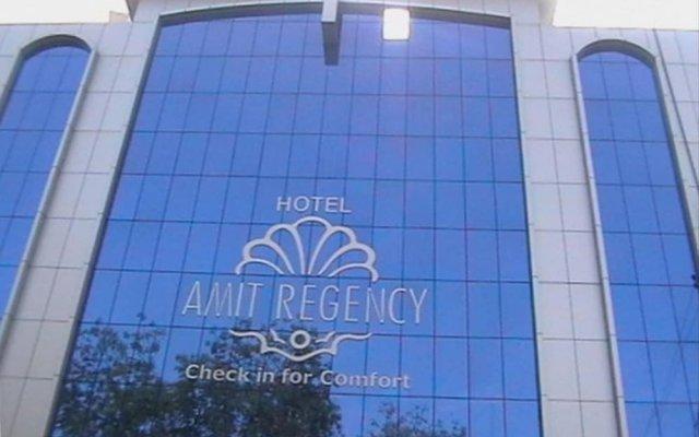 Hotel Amit Regency вид на фасад