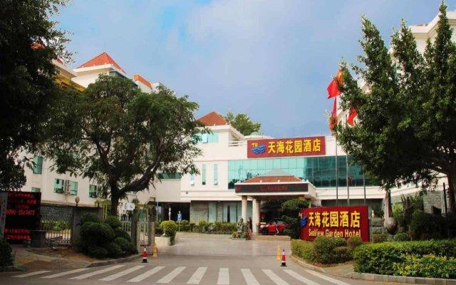 Отель Sea View Garden Hotel Xiamen Китай, Сямынь - отзывы, цены и фото номеров - забронировать отель Sea View Garden Hotel Xiamen онлайн вид на фасад