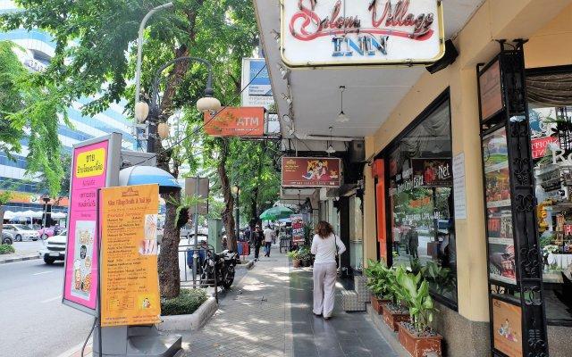 Отель Silom Village Inn вид на фасад