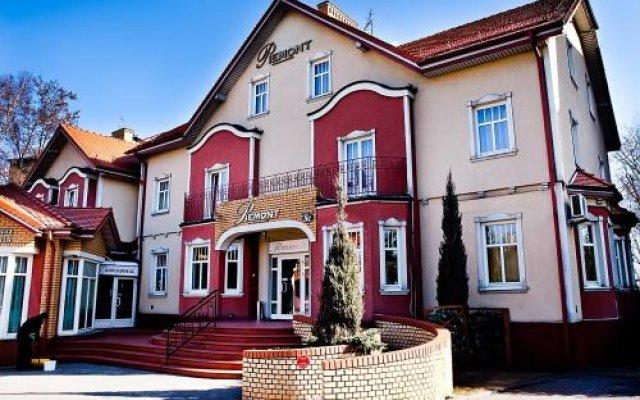 Отель Willa Piemont вид на фасад