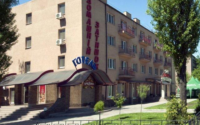Гостиница Raziotel Kryvyi Rih вид на фасад