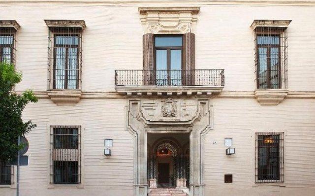 Hotel Palacio de Villapanes вид на фасад