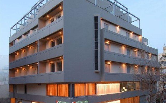 Atrion Hotel вид на фасад