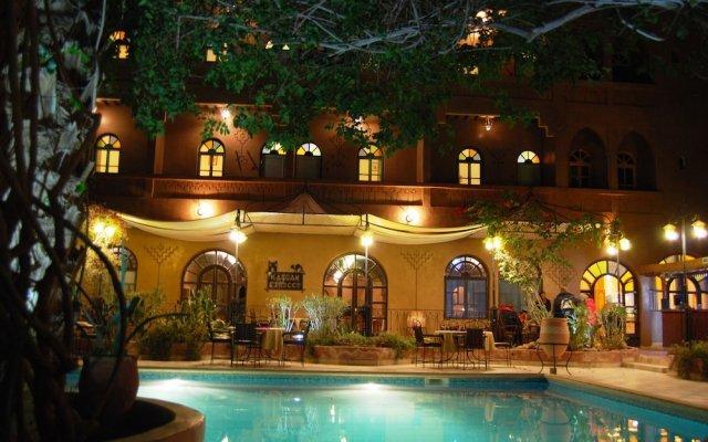 Отель Kasbah Sirocco Марокко, Загора - отзывы, цены и фото номеров - забронировать отель Kasbah Sirocco онлайн вид на фасад
