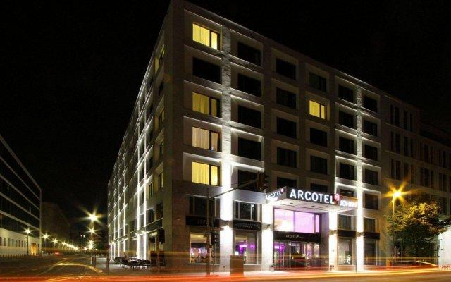 Отель ARCOTEL John F Berlin Германия, Берлин - 3 отзыва об отеле, цены и фото номеров - забронировать отель ARCOTEL John F Berlin онлайн вид на фасад