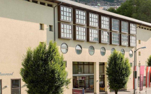 Отель Mercure Salzburg Central Австрия, Зальцбург - 3 отзыва об отеле, цены и фото номеров - забронировать отель Mercure Salzburg Central онлайн вид на фасад