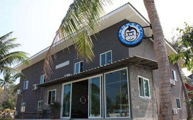 Отель Monkey Samui Hostel Таиланд, Самуи - отзывы, цены и фото номеров - забронировать отель Monkey Samui Hostel онлайн вид на фасад