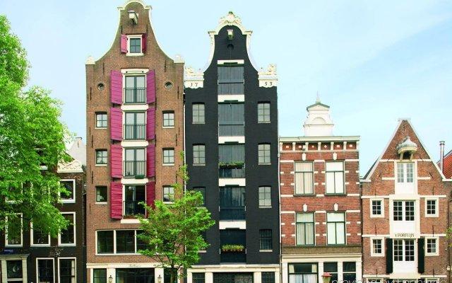 Отель Movenpick City Centre Амстердам вид на фасад