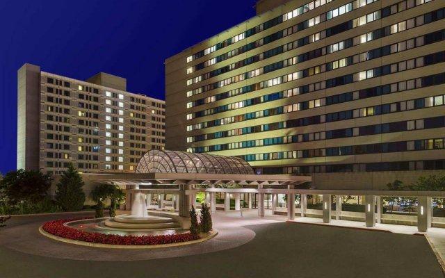 Отель Hilton New York JFK Airport США, Нью-Йорк - отзывы, цены и фото номеров - забронировать отель Hilton New York JFK Airport онлайн вид на фасад