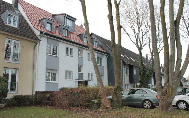 Апартаменты KLN Apartments Кёльн вид на фасад