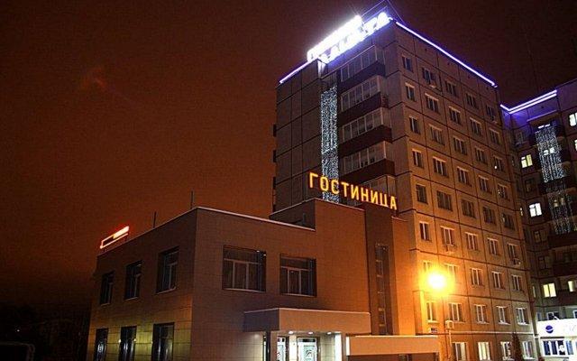 Гостиница Планета вид на фасад